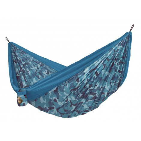 Double travel hammock COLIBRI CAMO river
