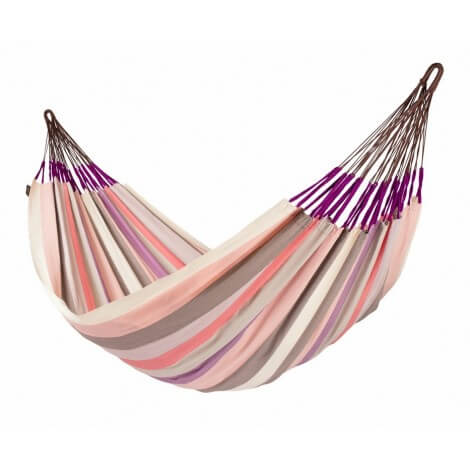 Colombian weatherproof Family Hammock DOMINGO plum