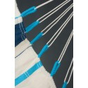Chaise Hamac Caribea Aqua Blue