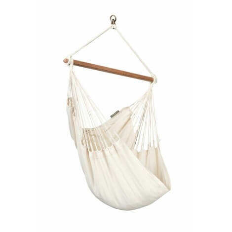 Colombian organic Hammock Chair Basic MODESTA écru