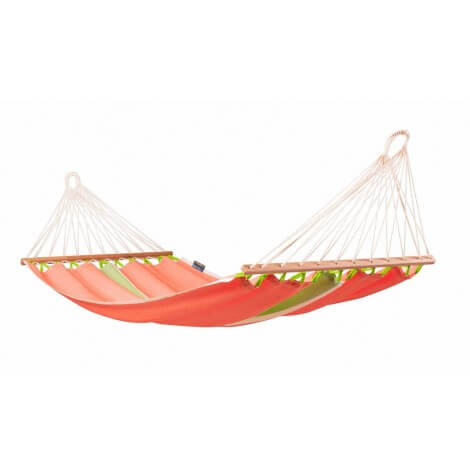 Colombian Single Hammock with spreader bars FRUTA mango